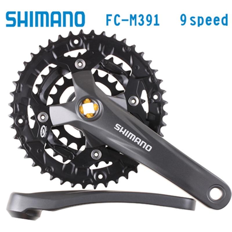 Shimano Acera FC-M391 Acera 9s 27s Pedal Bicycle Components Mountain Bike Mountain Bike Chain Wheel Accessory цена