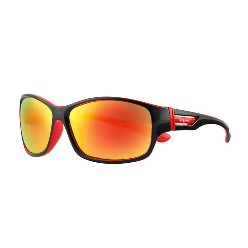 a06177d9b1 green Polarized Forma Rectángulo Gafas Logo black M127 Sol black Red Sole  De Da Black Uomo ...