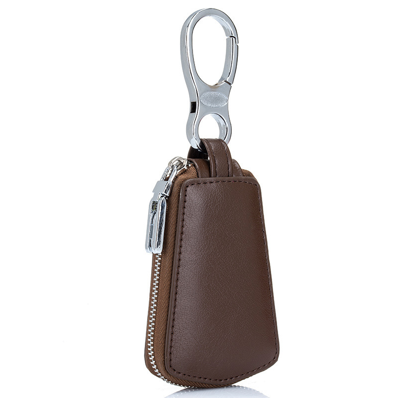 Hot Selling ! Unisex High Quality Car Key Holder Wallet Genuine Leather Car Key Case Business Key Package Housekeeper Key Bag