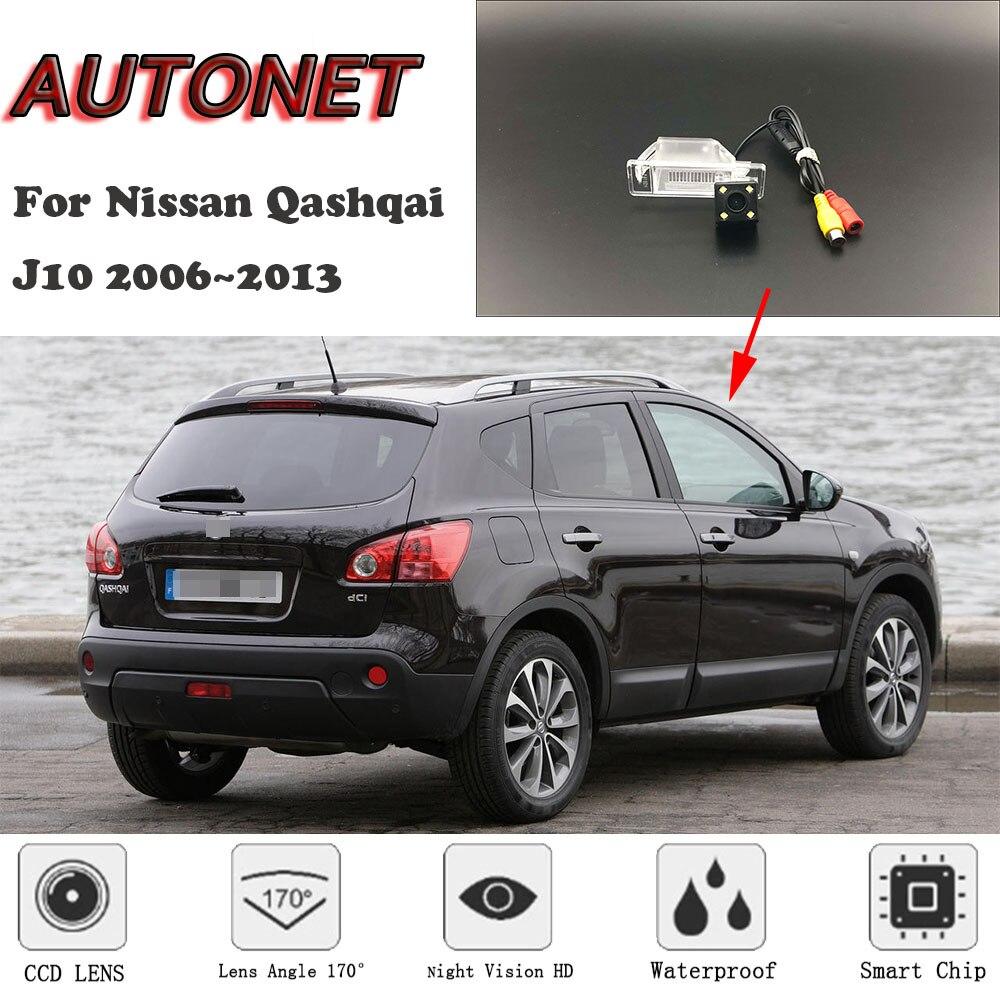 AUTONET HD Night Vision Backup Rear View Camera For Nissan Qashqai J10 2006~2013 CCD/Parking Camera/license Plate Camera