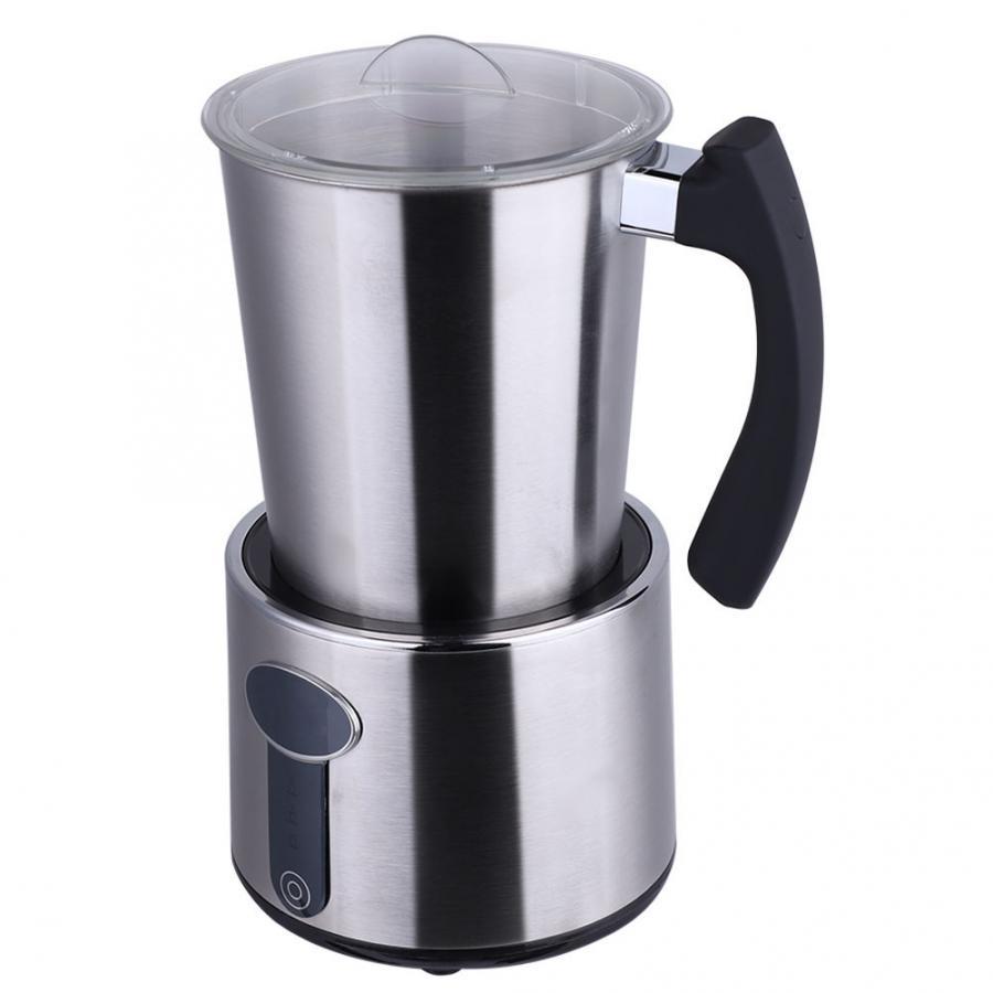 Машина для капучино из нержавеющей стали, автоматическая электрическая машина для замораживания молока, подогрев молока, Кофеварка, латте