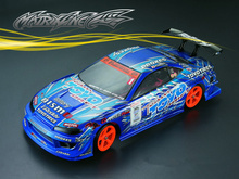 1set TY15 s15 GP 1/10 1:10 drift RC PC body shell 195 width Transparent clean no painted hsp hpi trax Tamiya