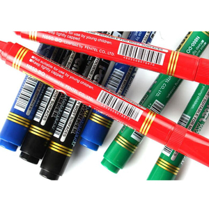 Image 4 - 10pcs/Box Japan Pentel N850 Paint Marker 4.2mm Round Head Non toxic Safe No fade Waterproof Permanent Black Red Blue Marker Pen