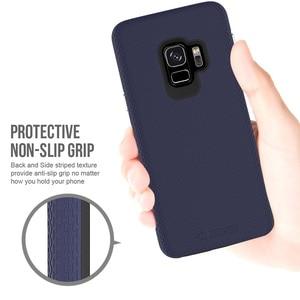 TOIKO X Guard 2 в 1 чехлы для телефонов Samsung Galaxy S9 ударопрочный Жесткий ПК Мягкий ТПУ бампер чехол Защитный Гибридный Броня