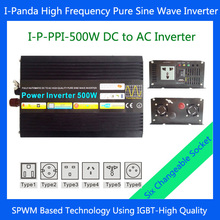 500W adapter car power inverter Pure sine wave inverter 500W with selectable socket High frequency DC to AC power inverter 500W