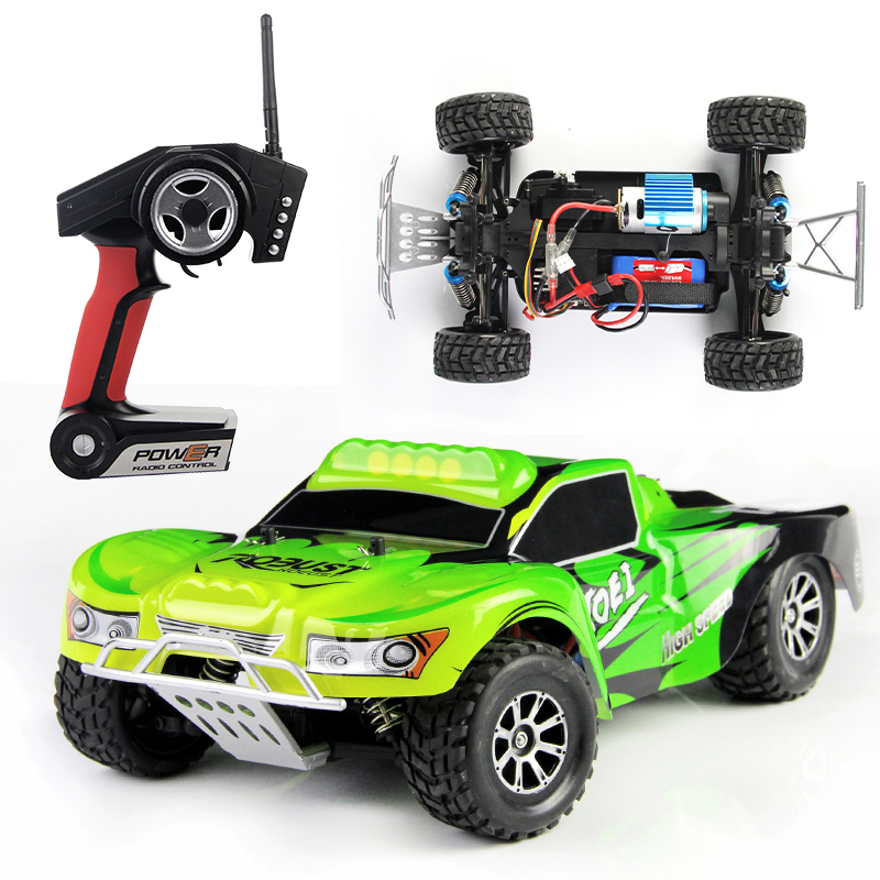 Wltoys A969 RC Monster Truck 1:18 2.4G Remote Control Car 4WD off road rc drift car 45KM/H High Speed Racing Electronic toys