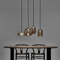Italy Foscarini Gregg Suspension Lamp Glass Pendant Lights Modern Led Irregular Hanging Lamp Dining Room Kitchen Light Fixtures