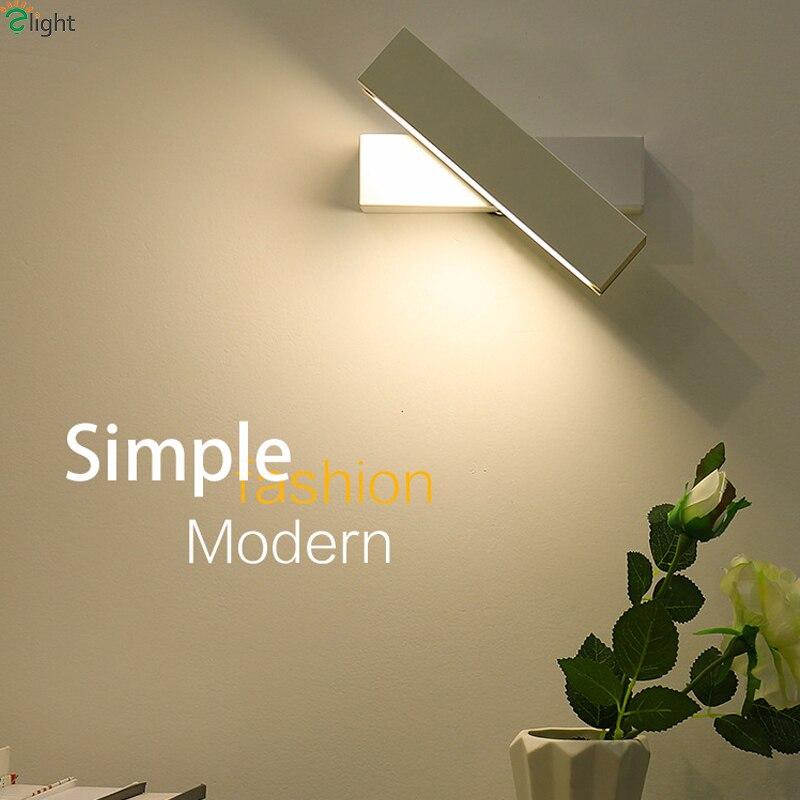 все цены на Nordic Rotatable Metal Led Wall Lamp Bedroom Oak Led Wall Lights Living Room Led Wall Light Fixtures Corridor Led Wall Sconce