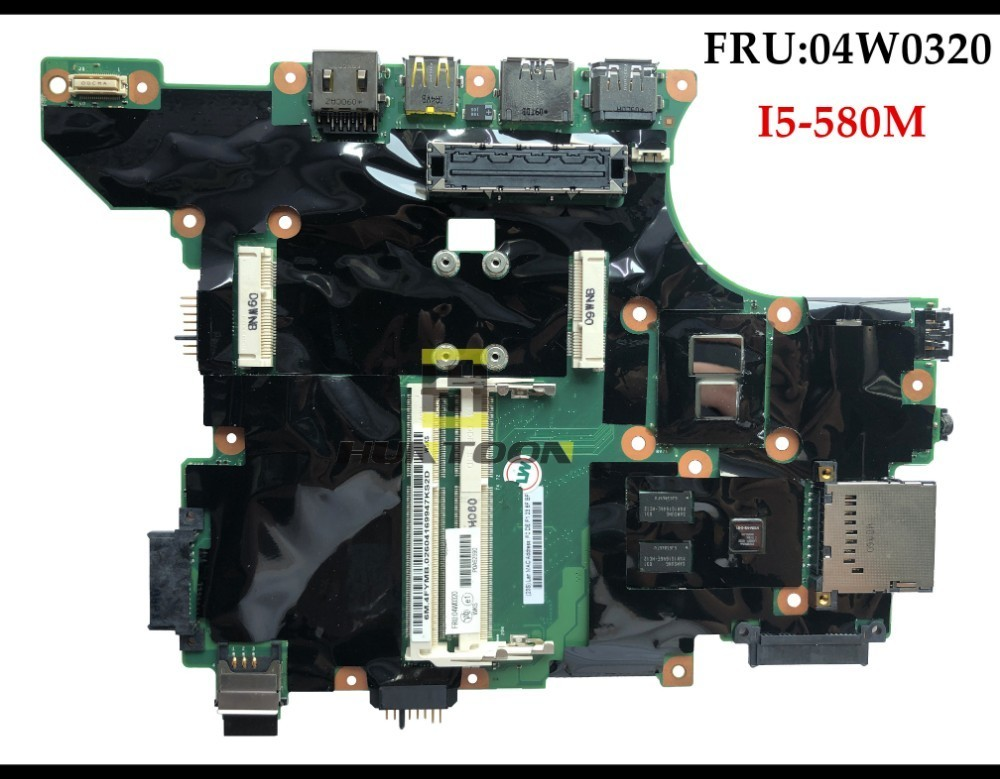 FRU 04W0320 For IBM Lenovo Thinkpad T410S System Board Assembly 04W1911 Intel Core i5 580M Processor
