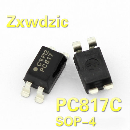 50 PCS EL817C SOP-4 EL817 PC817 SMD-4 Optocoupler IC NEW