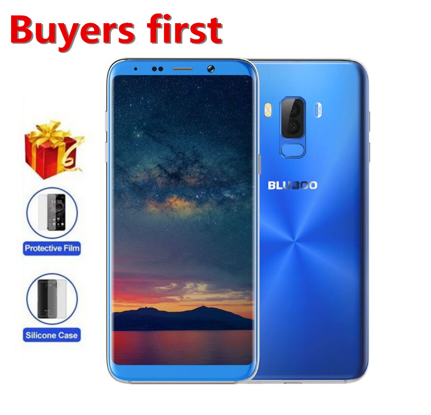 BLUBOO S8 plus 6 0 18 9 HD Full Smartphone 13MP MTK6750T Octa Core RAM 4GB