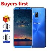 """Bluboo S8 Plus 6.0 """"18: 9 HD + полный смартфон 13MP mtk6750t Восьмиядерный Оперативная память 4 ГБ Встроенная память 64 ГБ 3600 мАч отпечатков пальцев 4 г LTE OTG мобильного телефона"""
