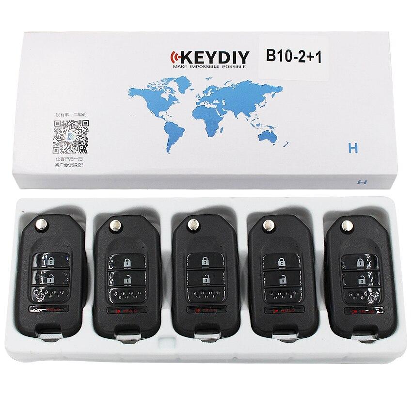 5 Pcs/lot KD900 KD900 + URG200 Mini KD KD-X2 télécommande 3 boutons télécommande voiture clé série B KD B10-2 à distance + 1