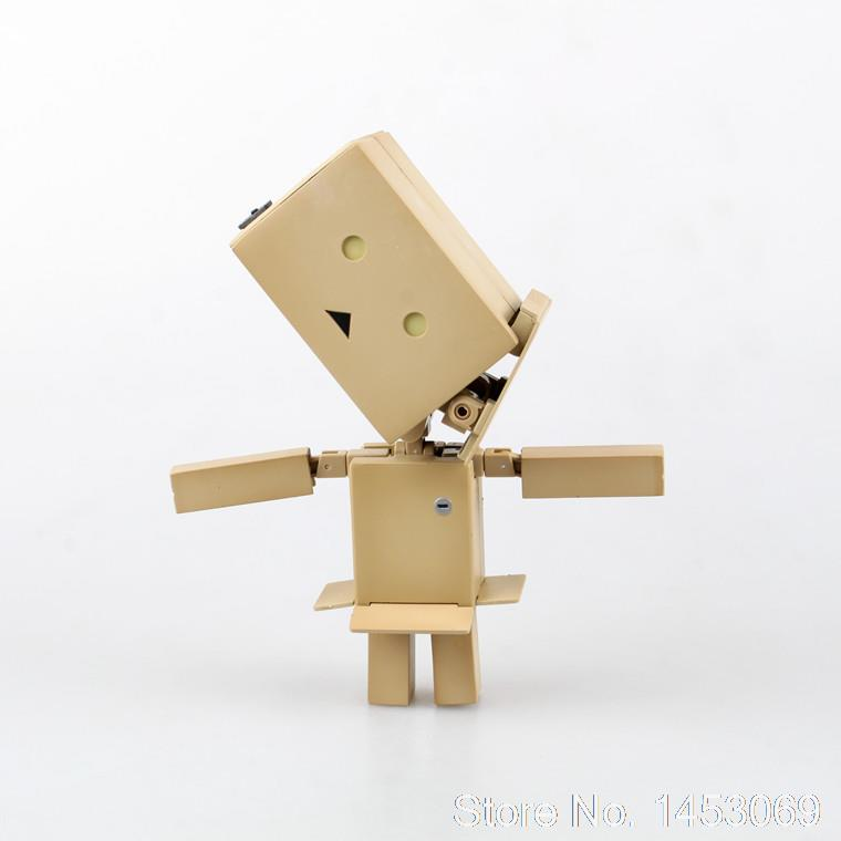 Transformable Lovely Danboard Danbo Doll PVC Action Figure Collectible Model Toy 10cm KT1732 cute lovely danboard danbo doll pvc action figure toy with led light 13cm