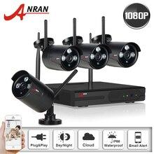 1080 P 2.0 Мегапиксельная HD 3 Массив Ночного Видения Открытый Безопасности WI-FI Мини Ip-камера & 4CH Беспроводной NVR Система Видеонаблюдения + 2 1TBHDD