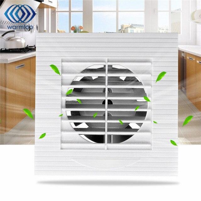 4 Inch 12 Watt Lüftung Abluftventilator Badezimmer Decke Wandhalterung  Gebläse Fenster Wand Küche Toilette Bad Fan