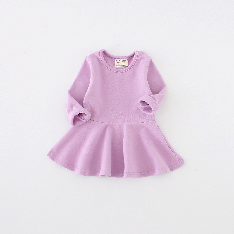 2017-Limited-Special-Offer-Knee-length-Girls-Dress-Spring-Autumn-Cotton-Kids-For-Long-Sleeve-Clothes-For-Princess-Girl-Party-2