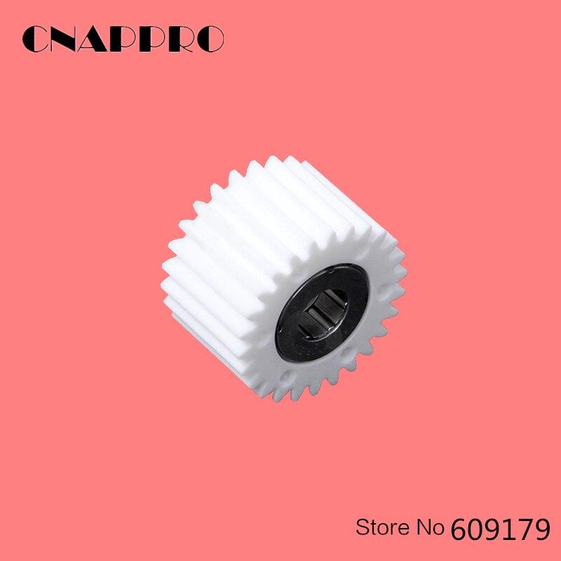 CNAPPRO 1pcs/lot A03U809500 Idler Gear For Konica Minolta C6500 Fuser Fuser Drive Gear 26T 1pcs lot a0g6813200 idler gear for konica minolta 1200 1051 1250 1052 951 1250p conveyance pulley 2