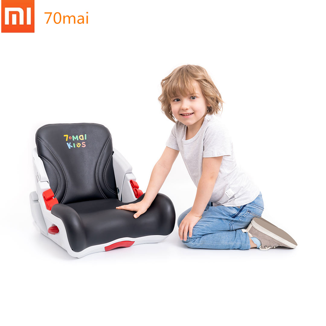 Original Xiaomi 70mai Child Car Safety Seat PVC Leather Steel Skeleton for 3-12 Years Old Child Kid Safety Booster ChairOriginal Xiaomi 70mai Child Car Safety Seat PVC Leather Steel Skeleton for 3-12 Years Old Child Kid Safety Booster Chair