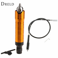 19mm x2mm Flexible Shaft Tube for Electric Engraving Grinding Machine +6.5mm Handle Pen Grip Dremel Accessories Rotary Tools