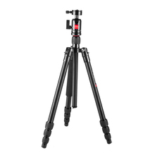 Light-weight  Aluminum  steady travelling digicam vedio picture Tripod with corridor head twist lock AT-228