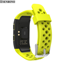SENBONO  S908 Bluetooth GPS Tracker IP68 Waterproof Smart Bracelet
