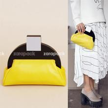 ออกแบบใหม่ยี่ห้อศิลปะDecoผู้หญิงเย็นคลัทช์Handagกระเป๋าสะพายโซ่กระเป๋า