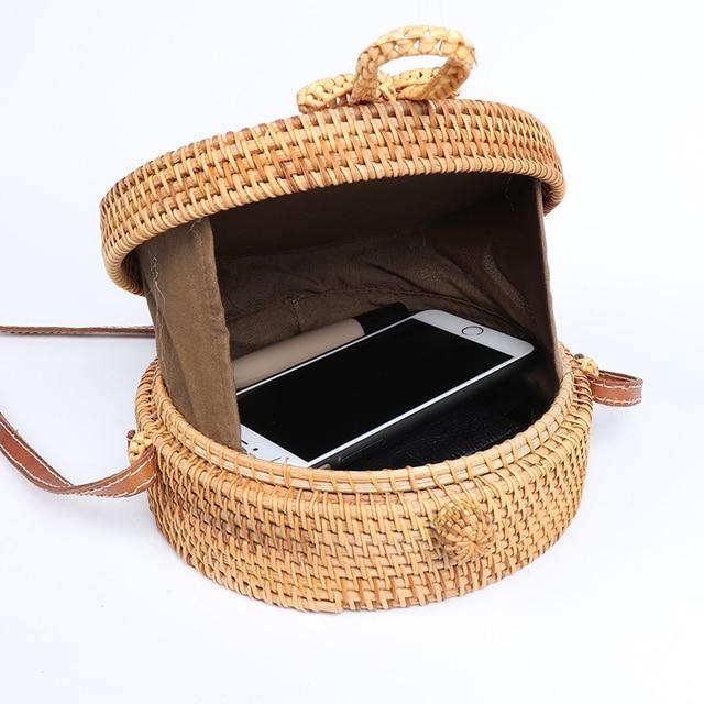 Handmade Summer Rattan Bag 5