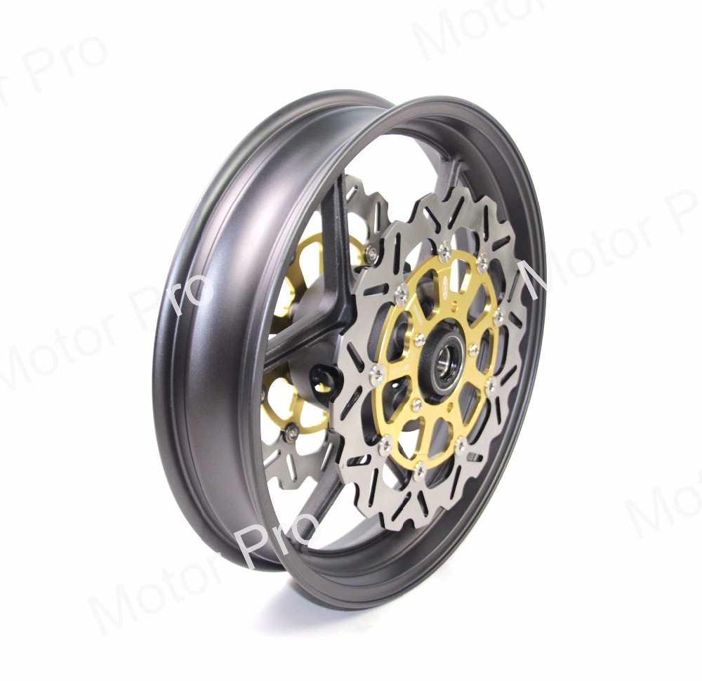ZX 10R For Kawasaki NINJA ZX10R 2006 2010 Front Wheel Rim Brake Disc Disk Rotor Motorcycle