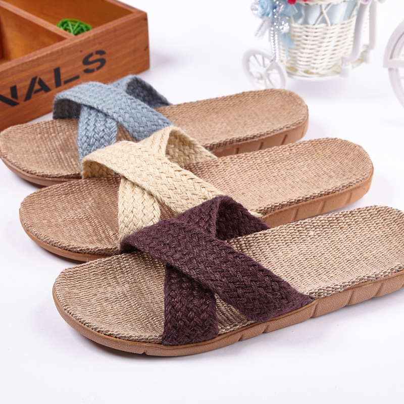 Mntrerm New Summer Home Slipper Women Indoor Slippers Plus Size 35-45 Flat Shoes House Slippers Non-slip Unisex Family SlippersMntrerm New Summer Home Slipper Women Indoor Slippers Plus Size 35-45 Flat Shoes House Slippers Non-slip Unisex Family Slippers