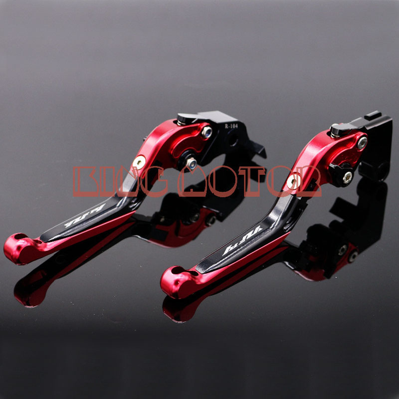 ФОТО For YAMAHA YZF R1 YZF-R1 2002-2003 Motorcycle Accessories Adjustable Folding Extendable Brake Clutch Levers