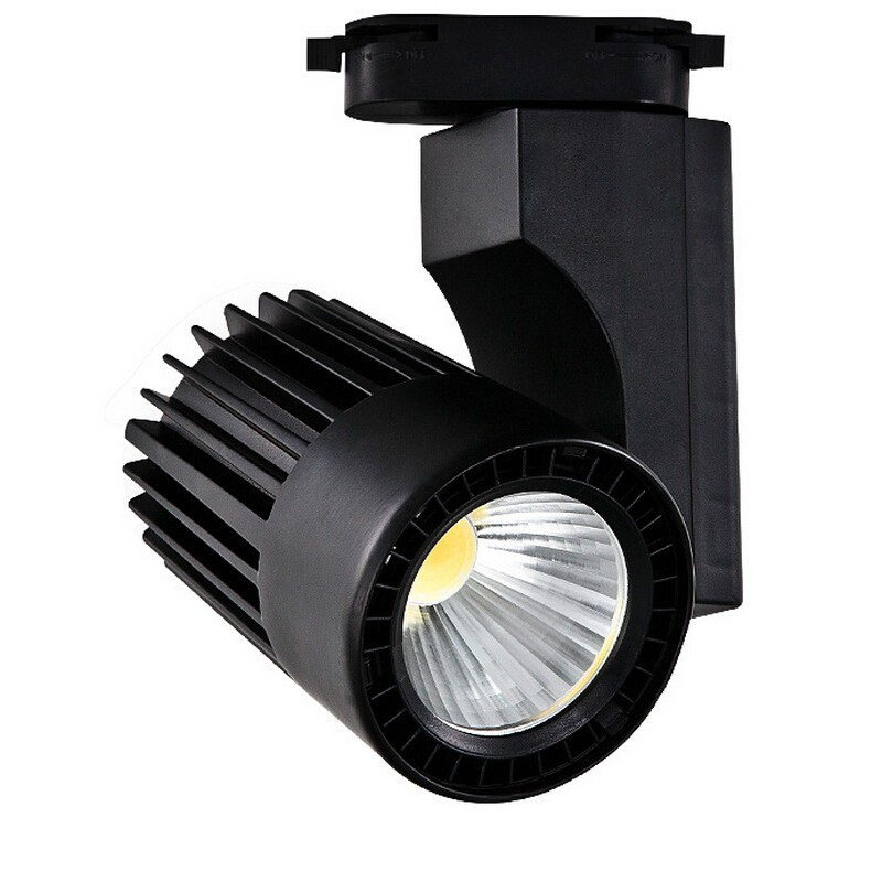 Led Track Light 24w Aluminum Spotlight Energy Saving Lamp Spot Showroom Surface Mounted Rail In Bulbs S From Lights Lighting