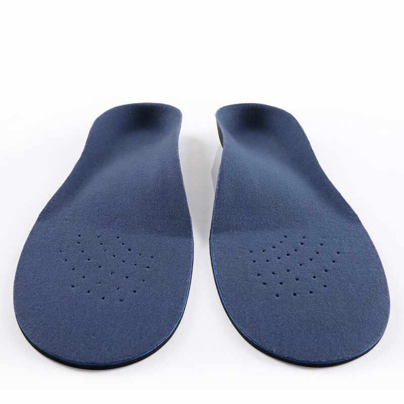 Düz ayaklar Arch destek tabanlık ortopedik yükseklik 3cm yüksek kaliteli 3D Premium rahat peluş bez ortez tabanlık ayak pedi