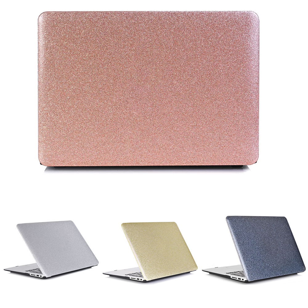 Shiny Surface Hand Cover Laptop Case for MacBook Air 11 13 Pro Retina 12 13 15 16 Touch Bar Shell For Mac 11.6 13.3 15.4