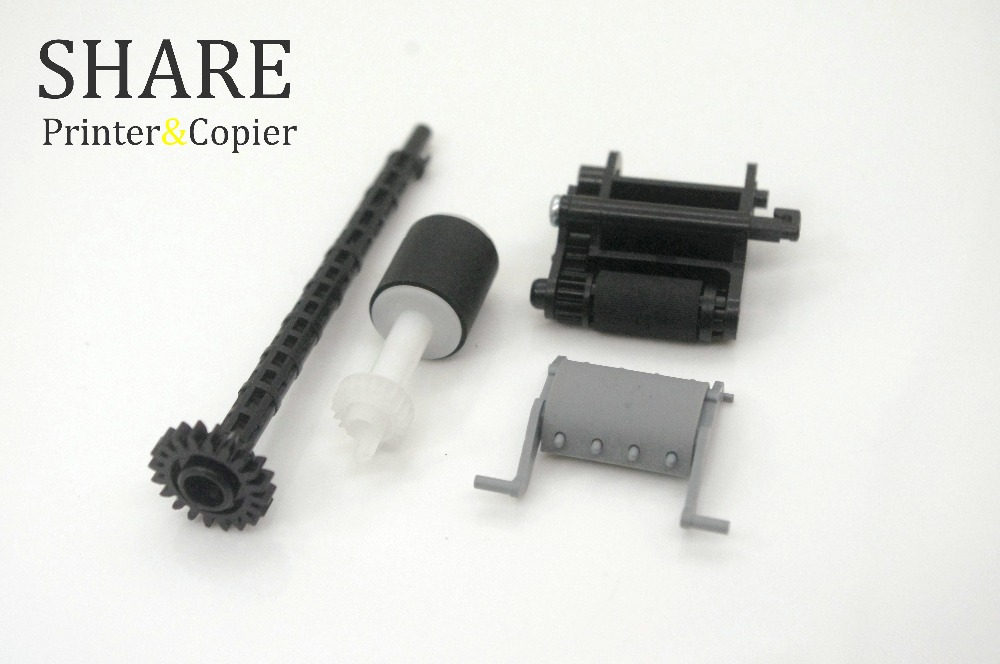 1X original new ADF ROLLER KIT AND PAD TR'Y CB780-60032 CB780-80008 FOR HP M1212 M1213 M1214 M1216 M1217mfp
