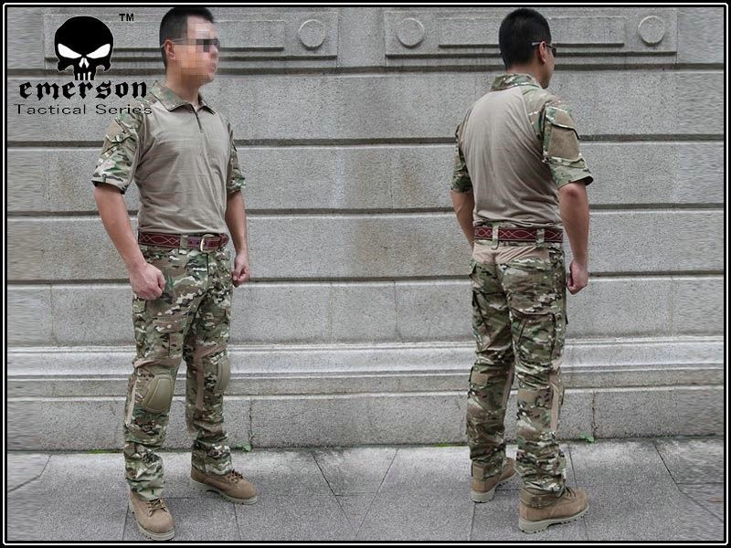us army military uniform for men Custom Combat Shirt & Pants Set Multicam (Size optional) tactical uniform M,L,XL 5902001399 men s stylish custom fitting cotton blended shirt black m