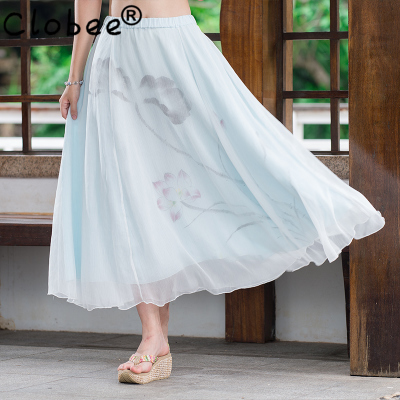 Online Get Cheap Long White Cotton Skirt -Aliexpress.com | Alibaba ...