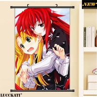 40X60CM High School Highschool DxD New BorN sexy loli cameltoe cartoon anime wall picture mural scroll canvas painting poster