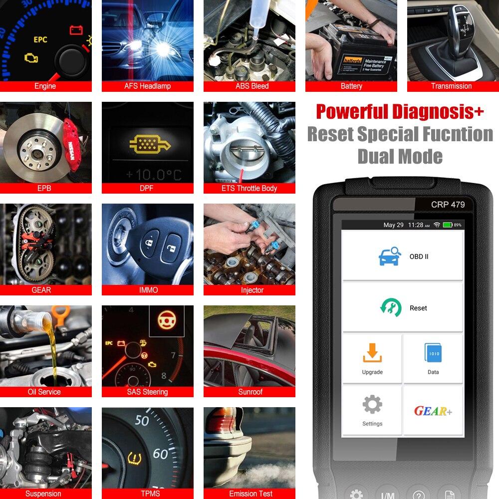 диагностический автомобильный LAUNCH сканер