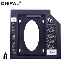 "CHIPAL Universal SATA 3.0 2nd HDD Caddy 12.7mm for 2.5"" 2TB SSD HD Hard Disk Case Enclosure for Notebook CD DVD ROM Optical Bay(China)"
