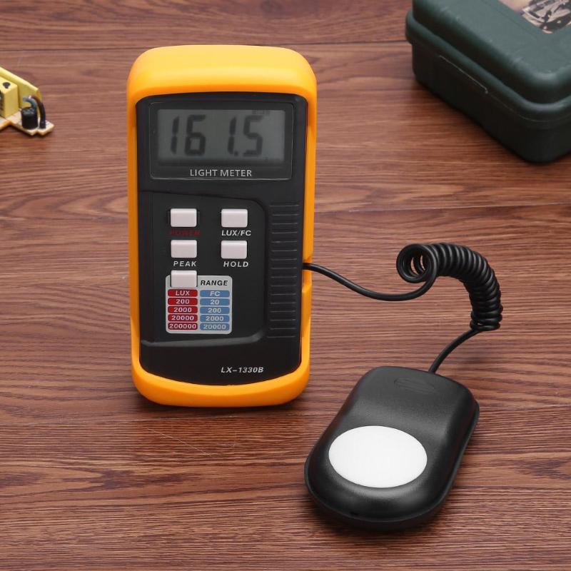 Digital Luminometer UV Radiometer Multifunctional Light Meter Photometer Eletric Tools Mini Light Meter 3 1 2