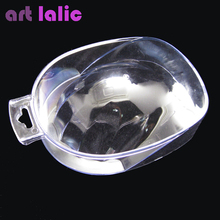 1 Pc Durable Nail Art Hand Wash Remover Soak Bowl DIY Salon