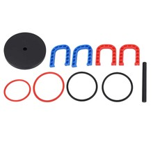 Пластиковая обучающая игрушка, детская игрушка-кольцо для бросания, тренировочная игра, спортивные игрушки, набор для бросания колец для об...