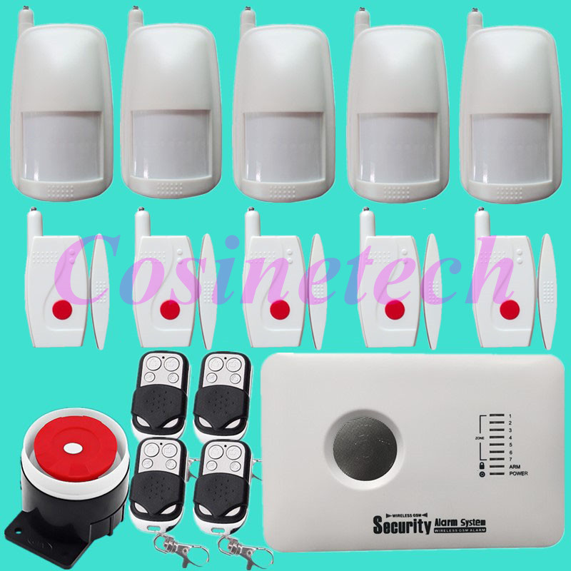 New Wireless Anti-burglar GSM SMS Voice Alarm System Auto dial remote APP controlled security alarm system better alarm sensor wireless gsm pstn auto dial sms phone burglar home security alarm system yh 2008a