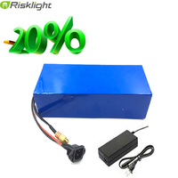 Free Shipping 48V 500W 750W 1000W Samsung Lithium Battery Pack 48V 15Ah Electric Bicycle Battery With
