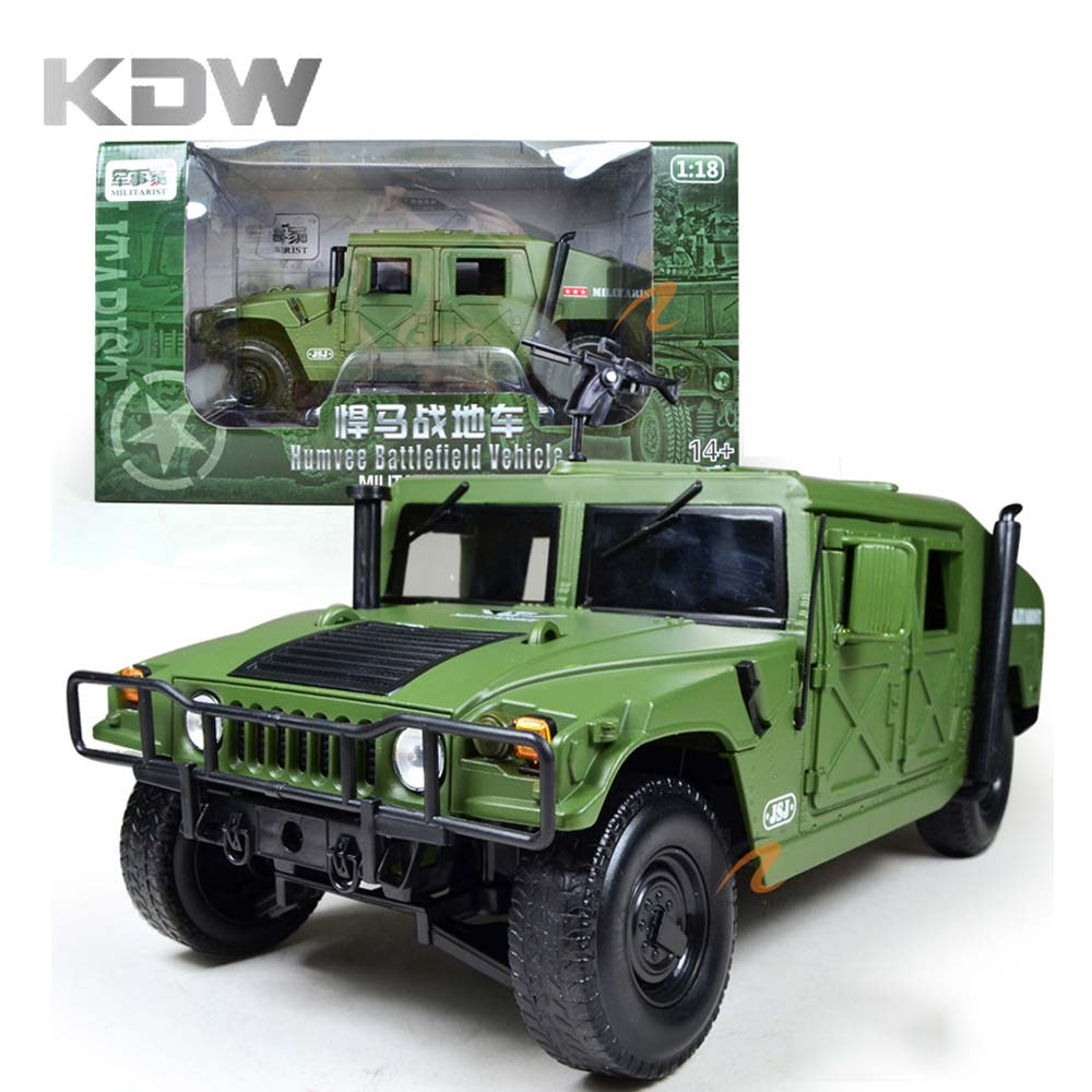 KDW 1:18 Scale Diecast Alloy Metal Model Military Armored Battlefield Vehicle Collection Gifts Soldiers Car Truck Toy Boy Kids high simulation 1 40 scale diecast engineering vehicle crusher metal model alloy toys collection for adult children gifts