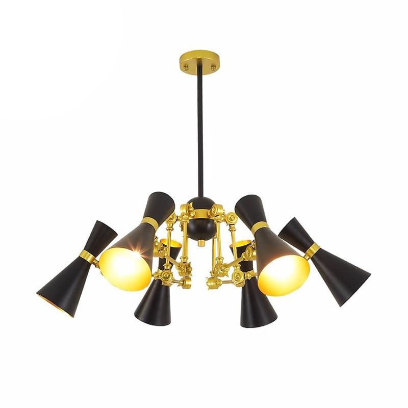 Modern minimalist iron creative adjustable chandeliers corridors porch lamps balcony lighting hall entrance lights (6)