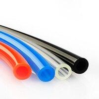 PU pipe 8*5 pneumatic hose flame retardant air compressor air pipe air pressure PU transparent hose 16mm blue high pressure