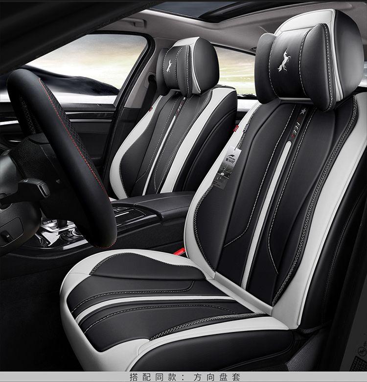 À votre goût accessoires auto housses de siège de voiture en cuir de luxe sur mesure pour SKODA Kodiaq Spaceback nouveau SUPURB superbe Combi mode