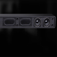5.1 home theater TV soundbar 60W output with 8 speaker units 3D surround and DSP support remote control